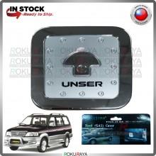 [CHROME] Toyota Unser Wellstar ABS Plastic Fuel Gas Tank Cap Garnish Moulding Cover Trim Car Accessories Parts