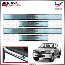 [BESI] Mazda Fighter Stainless Steel Chrome Side Sill Kicking Plate Garnish Moulding Cover Trim Car Accessories