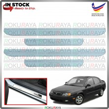 [BESI] Naza Kia Spectra Stainless Steel Chrome Side Sill Kicking Plate Garnish Moulding Cover Trim Car Accessories