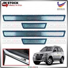 [BESI] Perodua Kembara WELLSTAR Stainless Steel Chrome Side Sill Kicking Plate Garnish Moulding Cover Trim Car