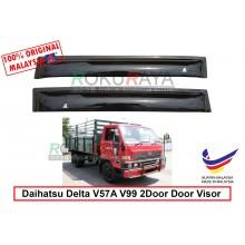 Daihatsu Delta V57A V99 Lorry 2Door AG Door Visor Air Press Wind Deflector (Small 7cm Width)