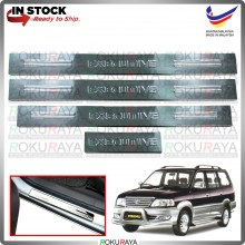 [BESI] Toyota Unser Stainless Steel Chrome Side Sill Kicking Plate Garnish Moulding Cover Trim Car Accessories