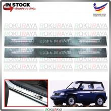 [BESI] Suzuki Vitara 2Door 1988-1998 Stainless Steel Chrome Side Sill Kicking Plate Garnish Moulding Cover Trim Car