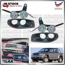 [DLAA TY025] Toyota Hilux SR Turbo 165 Carbon Twin Dual Spotlight Fog Lamp Original Bumper Car Accessories Parts