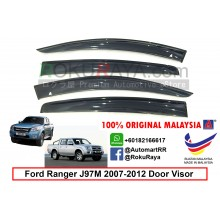 Ford Ranger 4Door J97M 2007-2012 AG Door Visor Air Press Wind Deflector (Big 12cm Width)