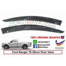 Ford Ranger T6 T7 2Door 2012 AG Door Visor Air Press Wind Deflector (Big 12cm Width)