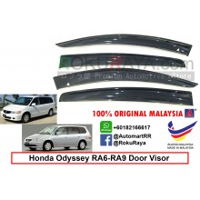 Honda Odyssey RA6-RA9 ( 2nd Gen ) 1999-2003 AG Door Visor Air Press Wind Deflector (Big 12cm Width)
