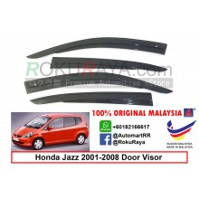 Honda Jazz ( 1st Gen ) 2001–2008 AG Door Visor Air Press Wind Deflector (AG Mugen Design)