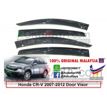 Honda CR-V CRV ( 3rd Gen ) 2007–2012 AG Door Visor Air Press Wind Deflector (Big 12cm Width)