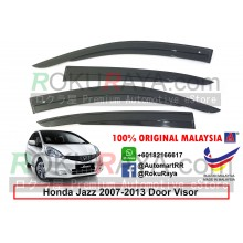 Honda Fit Jazz ( 2nd Gen ) 2007–2013 AG Door Visor Air Press Wind Deflector (AG Mugen Design)