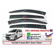 Honda Freed 2011 AG Door Visor Air Press Wind Deflector (Big 12cm Width)