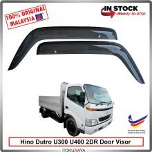 Hino Dutro U300 U400 AG Door Visor Air Press Wind Deflector (Big 12cm Width)