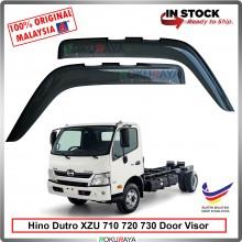 Hino Dutro 300Series XZU 710 720 730 AG Door Visor Air Press Wind Deflector (Big 12cm Width)