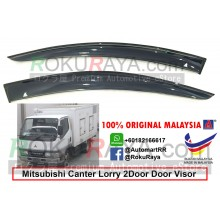Mitsubishi Fuso Lorry Canter 1995-2008 AG Door Visor Air Press Wind Deflector (Big 12cm Width)