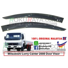Mitsubishi Fuso Lorry Canter 2008 AG Door Visor Air Press Wind Deflector (Big 12cm Width)