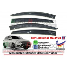 Mitsubishi Outlander (3rd Gen) 2013 AG Door Visor Air Press Wind Deflector (Big 12cm Width)