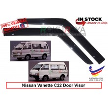 Nissan Vanette 2Door (2nd Gen) C22 1985-1994 AG Door Visor Air Press Wind Deflector (Small 7cm Width)