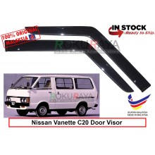 Nissan Vanette 2Door (1st Gen) C20 1978-1988 AG Door Visor Air Press Wind Deflector (Small 7cm Width)