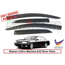 Nissan Cefiro Maxima A32 1994-1998 AG Door Visor Air Press Wind Deflector (Small 7cm Width)