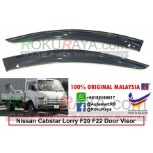 Nissan Cabstar Lorry F20 F22 (2nd Gen) AG Door Visor Air Press Wind Deflector (Big 12cm Width)