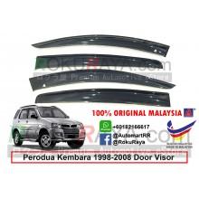 Perodua Kembara 1998-2008 AG Door Visor Air Press Wind Deflector (Big 12cm Width)