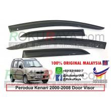 Perodua Kenari 2000-2008 AG Door Visor Air Press Wind Deflector (Small 7cm Width)