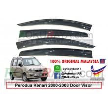 Perodua Kenari 2000-2008 AG Door Visor Air Press Wind Deflector (Big 12cm Width)