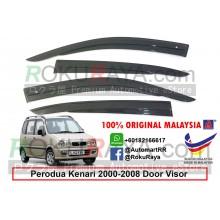 Perodua Kenari 2000-2008 AG Door Visor Air Press Wind Deflector (AG Mugen Design)
