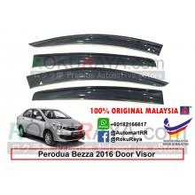 Perodua Bezza 2016 AG Door Visor Air Press Wind Deflector (Big 12cm Width)