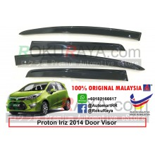 Proton Iriz 2014 AG Door Visor Air Press Wind Deflector (Flat 10cm Width)