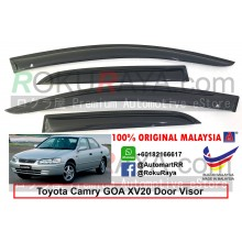 Toyota Camry GOA XV20 1997-2001 AG Door Visor Air Press Wind Deflector (Small 7cm Width)