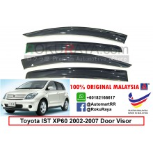 Toyota IST XP60 (1st Gen) 2002-2007 AG Door Visor Air Press Wind Deflector (Big 12cm Width)