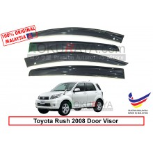 Toyota Rush 2008 AG Door Visor Air Press Wind Deflector (Big 12cm Width)