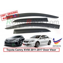 Toyota Camry XV50 2011-2017 AG Door Visor Air Press Wind Deflector (Medium 8cm Width)