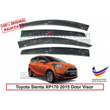 Toyota Sienta XP170 (2nd Gen) 2015 AG Door Visor Air Press Wind Deflector (Big 12cm Width)