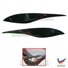 Nissan Almera Custom fit ABS Car Head Lamp Eyelid Eye Lid Brow Cover