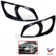 Proton Saga BLM (2008-2010) Custom Fit ABS Plastic Car Headlamp Head Lamp Eyelid Eye Lid Brow Cover