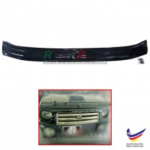 Perodua Kenari (2000-2008) Front Hood Protector Bonnet Bug Visor Guard Cover With Brackets And Clips (Black)
