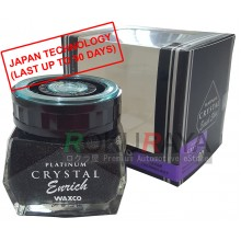 Waxco Platinum Crystal Enrich Shine Japan Carall Regalia Velvet Musk Air Freshener Perfume (85ml)