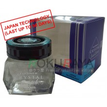 Waxco Platinum Crystal Enrich Essence Japan Carall Regalia Velvet Musk Air Freshener Perfume (85ml)