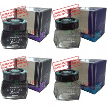 Waxco Platinum Crystal Enrich Essence Shine Japan Carall Regalia Velvet Musk Air Freshener Perfume (85ml)