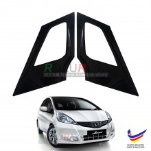 Honda Fit Jazz (2nd Gen) 2007-2013 Aerodynamic Front Triangle Side Window Mirror Cover (J's JS Racing Design)