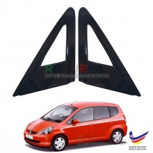 Honda Jazz (1st Gen) 2001-2008 Aerodynamic Front Triangle Side Window Mirror Cover (J's JS Racing Design)