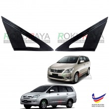 Toyota Innova AN40 (1st Gen) 2004-2015 Aerodynamic Front Triangle Side Window Mirror Cover (J's JS Racing Design)