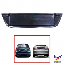 Proton Saga BLM FL FLX (2nd Gen) 2008-2016 Custom Fit Rear Bonnet OEM ABS Acrylic Plastic Decorative Number Plate Holder Black