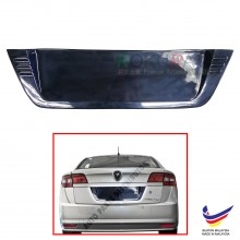 Proton Preve 2012 Custom Fit Rear Bonnet OEM ABS Acrylic Plastic Decorative Number Plate Holder Black