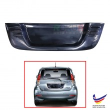 Perodua Myvi (1st Gen) 2005-2011 Custom Fit Rear Bonnet OEM ABS Acrylic Plastic Decorative Number Plate Holder Black